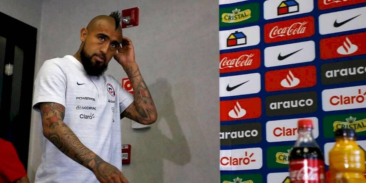 """La confesión de Arturo Vidal: """"Una vez tuve ganas de dejar la Roja, pero me ganó el corazón"""""""