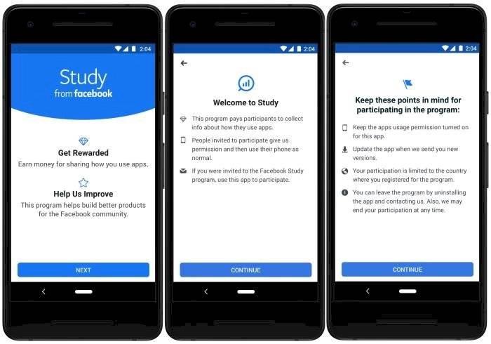 Facebook ofrece pagar a usuarios por sus datos