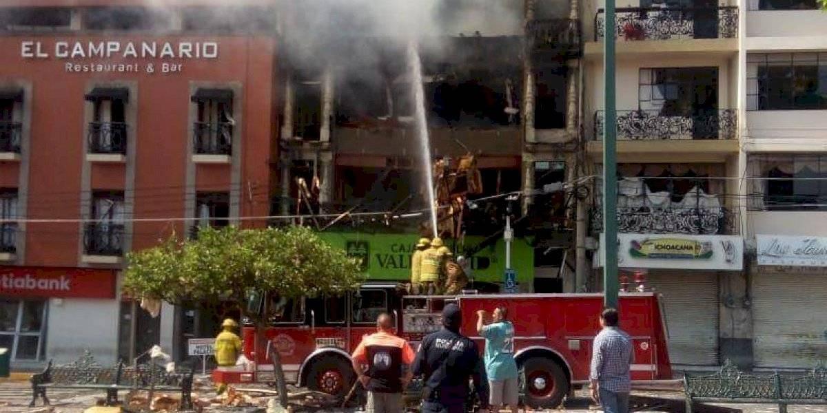 Explosión de tanque de gas deja 4 muertos y 20 heridos en Jalisco