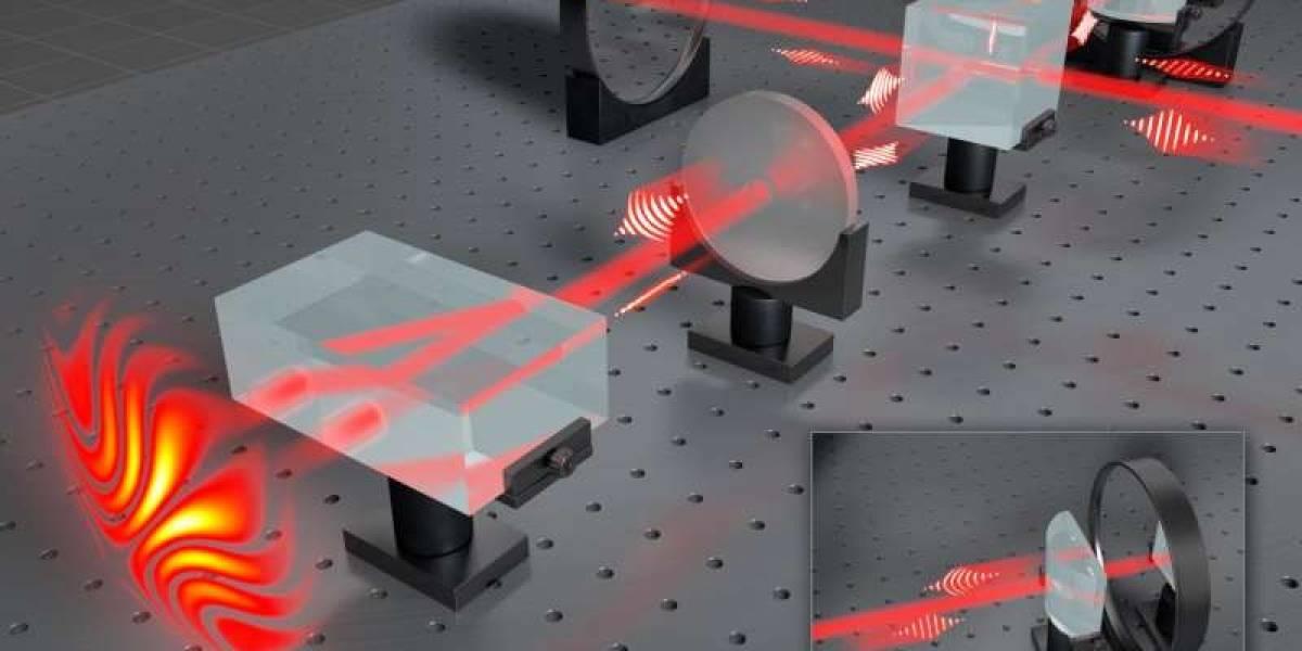 Científicos chilenos han logrado cambiar la estructura de la luz para aplicarla en la microelectrónica