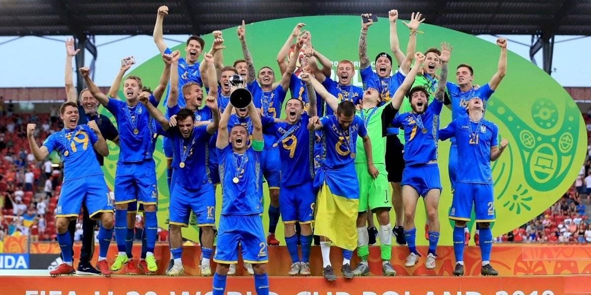Ucrania se proclama campeón del mundo Sub 20
