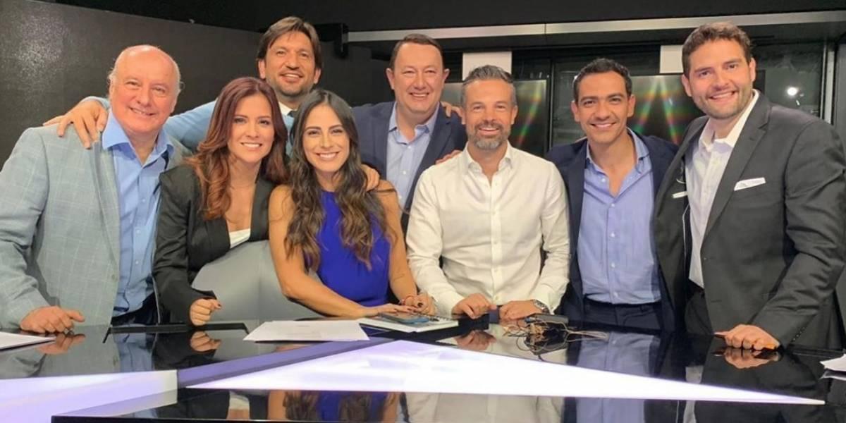 Valeria Marín presume primer día en Televisa Deportes