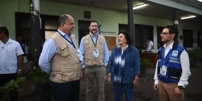 acto inaugural de elecciones generales en Guatemala