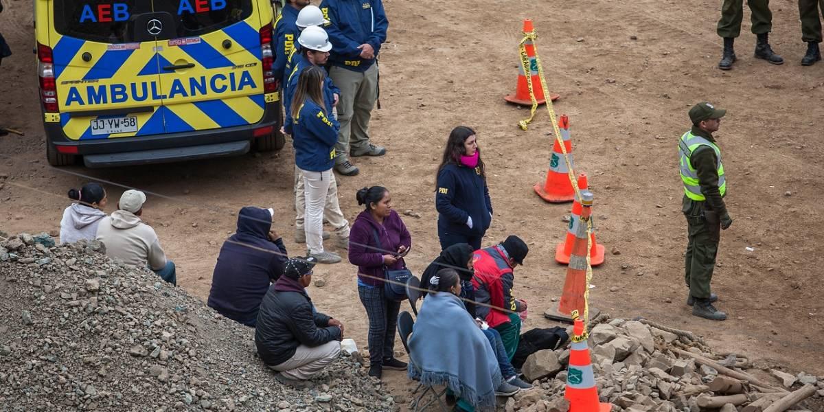 Tocopilla: rescatistas encuentran el cuerpo del último minero que se encontraba desaparecido al interior de la mina San José