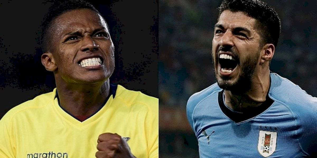 Copa América: Ecuador, desastroso ante Uruguay
