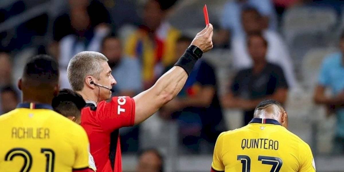 Ecuador sufrió su primera baja para el partido ante Chile por Copa América