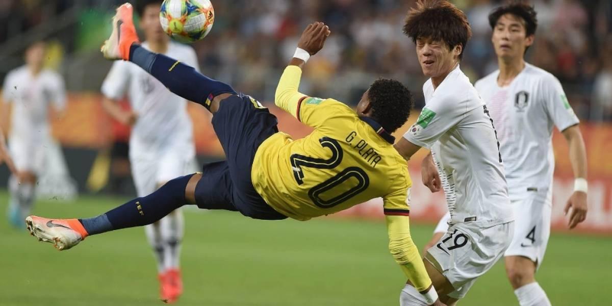 Gonzalo Plata ganó el Balón de Bronce en el Mundial Sub 20