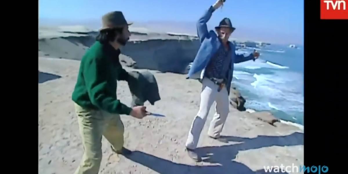 Youtuber elige las diez escenas más ridículas de las teleseries chilenas