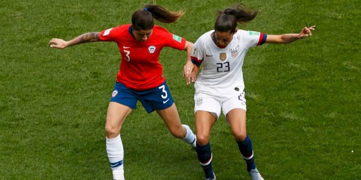 Así vivimos la digna derrota de la Roja femenina ante Estados Unidos por el Mundial Francia 2019