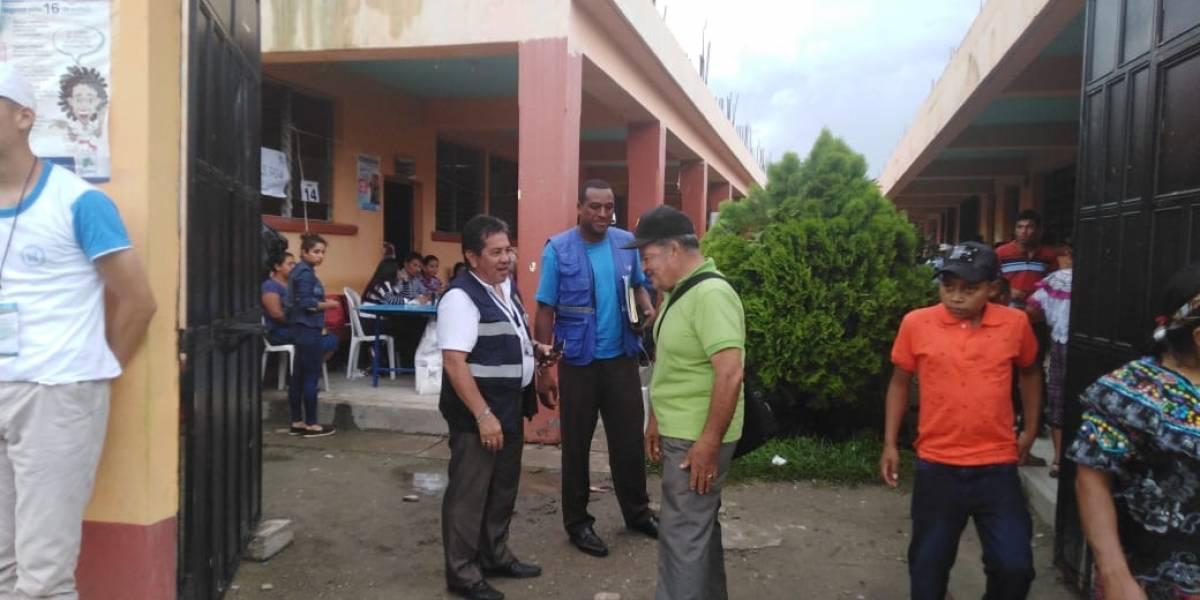 Amenazan con quemar papeletas si no gana el actual alcalde en Cubulco, Baja Verapaz