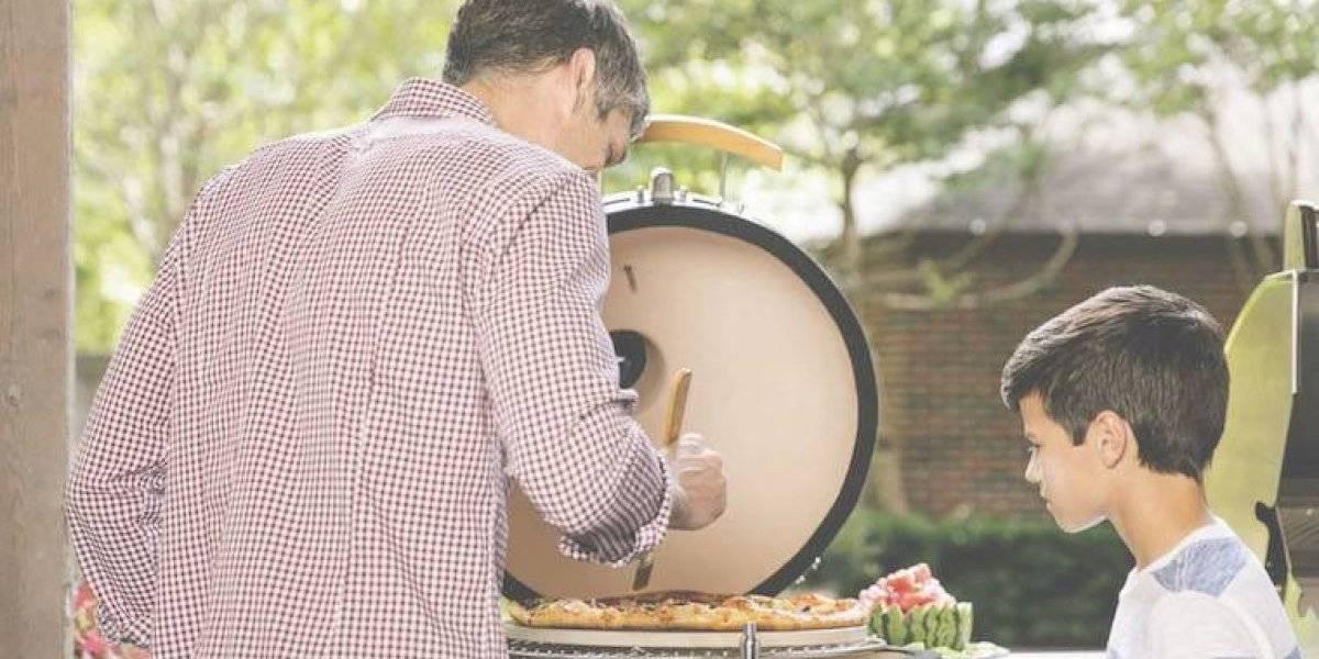 La cocina a la parrilla se disfruta más en el exterior