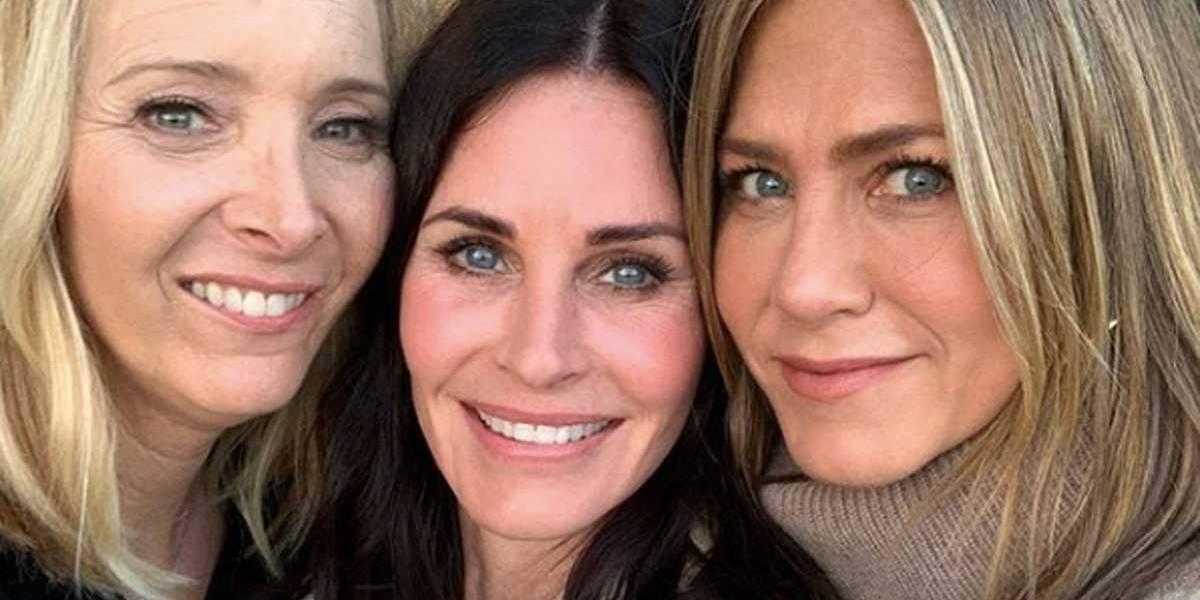 Reencontro de atrizes de Friends deixa fãs empolgados