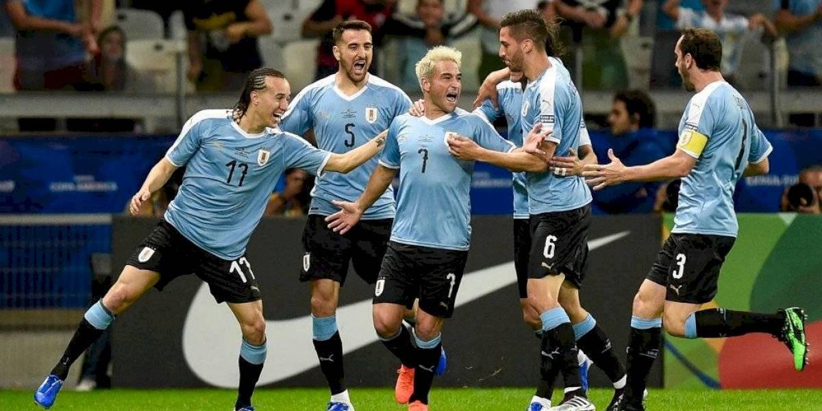 Uruguay le pasó por encima a Ecuador y le demostró a todos que es serio aspirante a ganar la Copa América