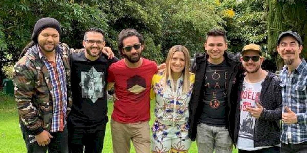 Nathalie Hazim graba tercera producción en Colombia