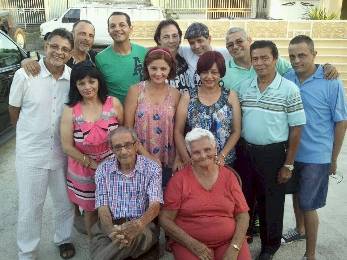 Silverio Perez y familia