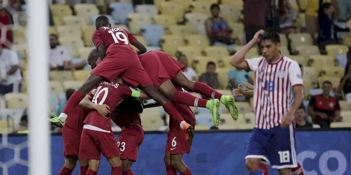 Catar da la sorpresa y rescata el empate ante Paraguay