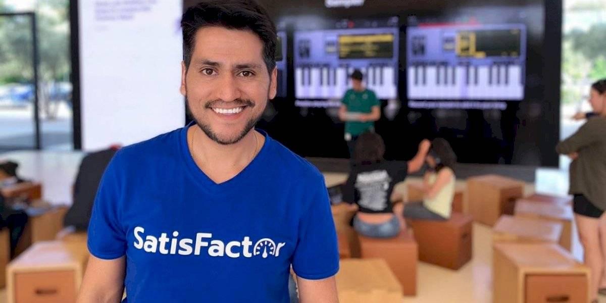 Este innovador chileno se va a Silicon Valley a participar de importante programa para emprendedores