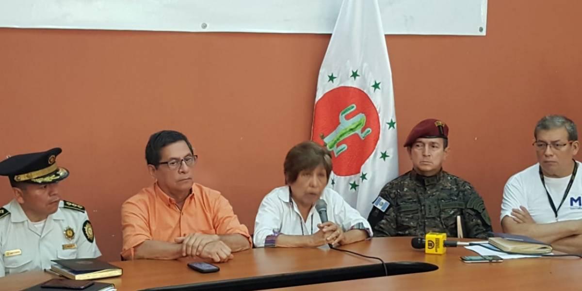 TSE suspende votaciones en San Jorge, Zacapa, tras incidentes