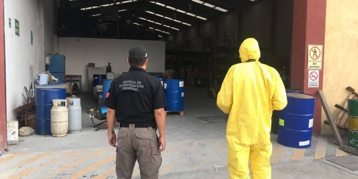 Revienta FGR laboratorio de drogas sintéticas en García