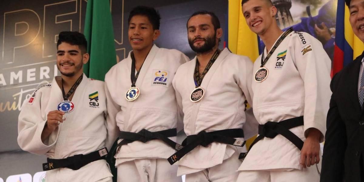 Judocas de Ecuador estuvieron en los podios en Panamericano de Quito