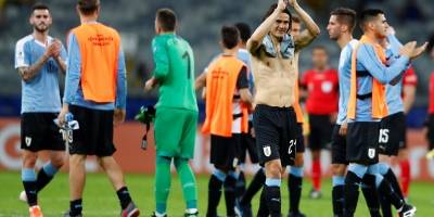 Uruguay vs Ecuador/ Cavani