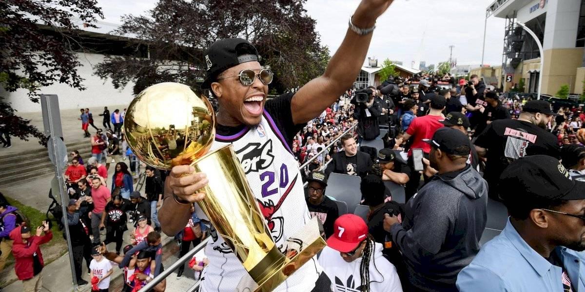 Un tiroteo empañó la espectacular celebración del título de la NBA de Toronto Raptors