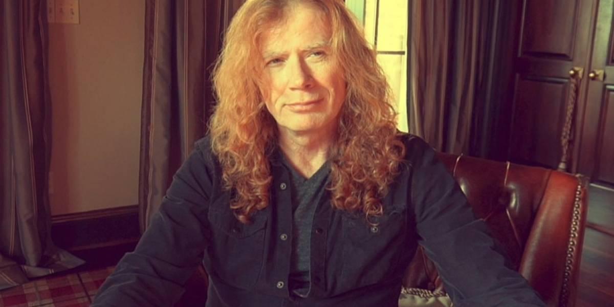 Dave Mustaine, líder de Megadeth, fue diagnosticado con cáncer y su show en Chile está en duda