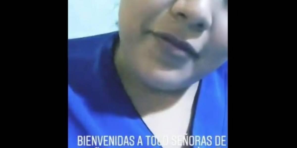 """""""Bienvenidas a todas las señoras de 15 años con 3 de dilatación"""": estudiante de medicina desata la ira en redes sociales por burlarse de una paciente"""