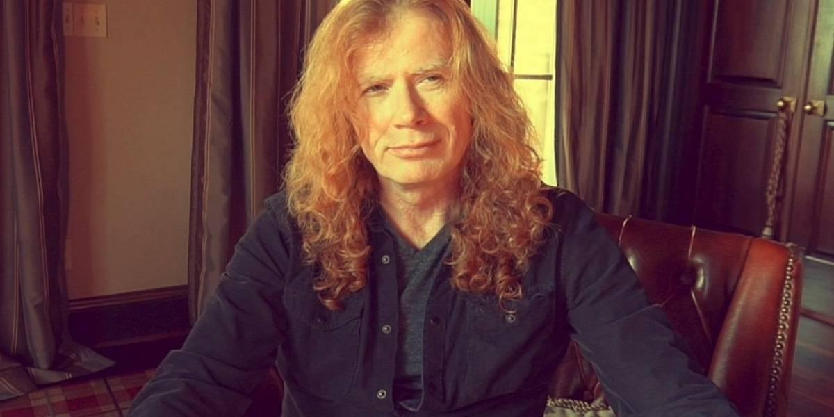 Dave Mustaine de Megadeth anuncia que padece cáncer de garganta