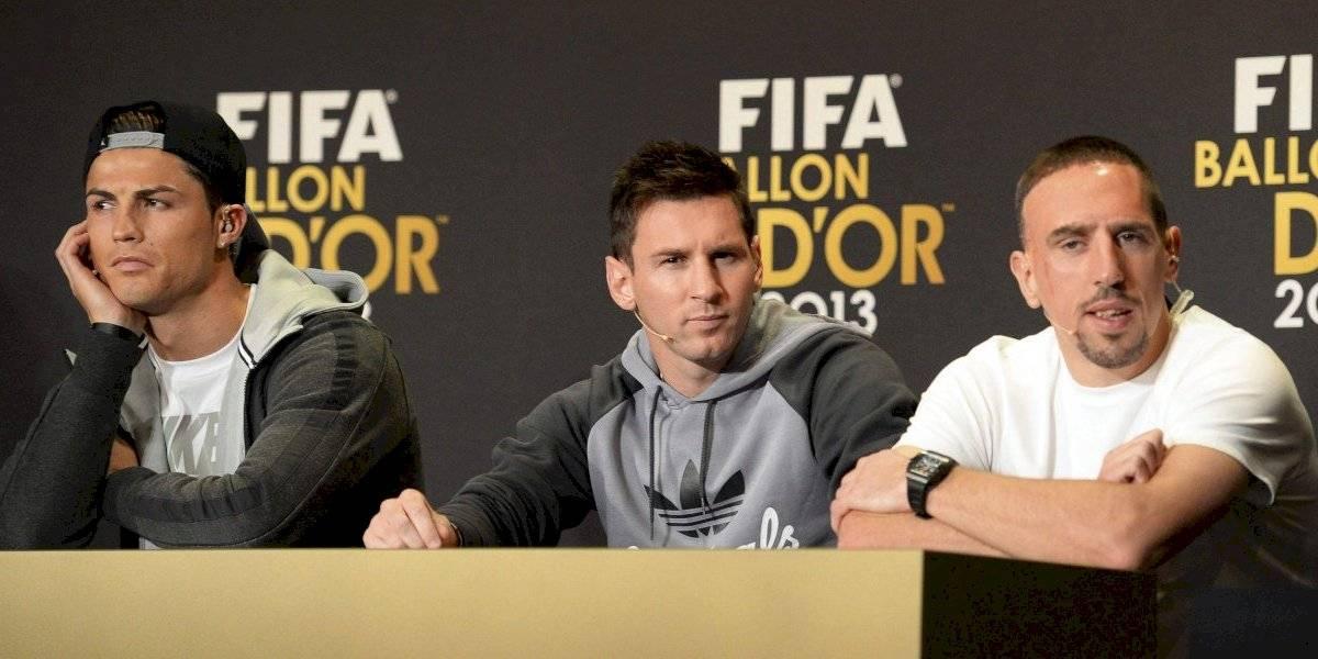 Fui mejor que Messi y Cristiano, no tenía nada qué envidiarles: Ribery