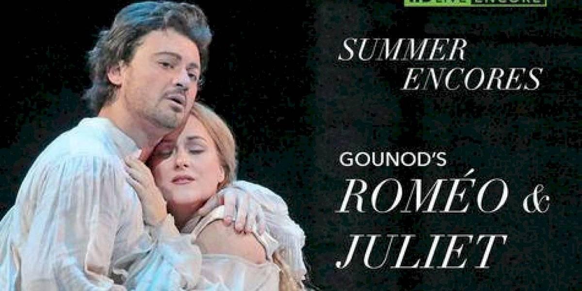 """Cuatro óperas de la serie """"Cine en vivo del met"""" regresan a la gran pantalla en Fine Arts Novo Centro"""