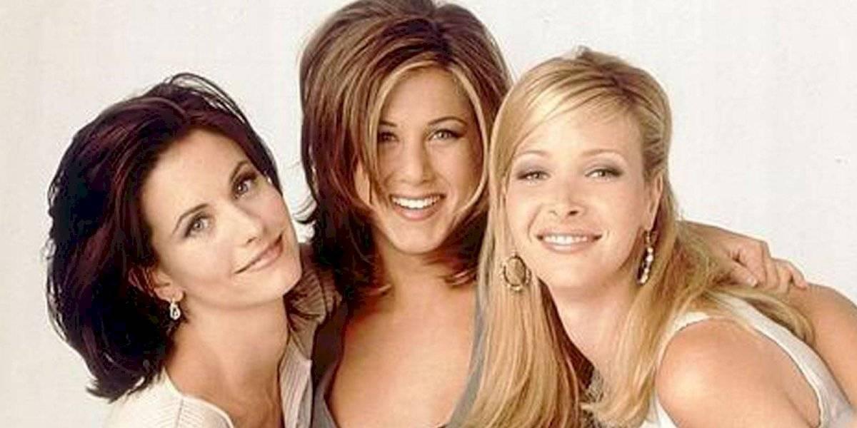 """Así fue el reencuentro entre Rachel, Mónica y Phoebe que enloqueció a los fans de """"Friends"""""""