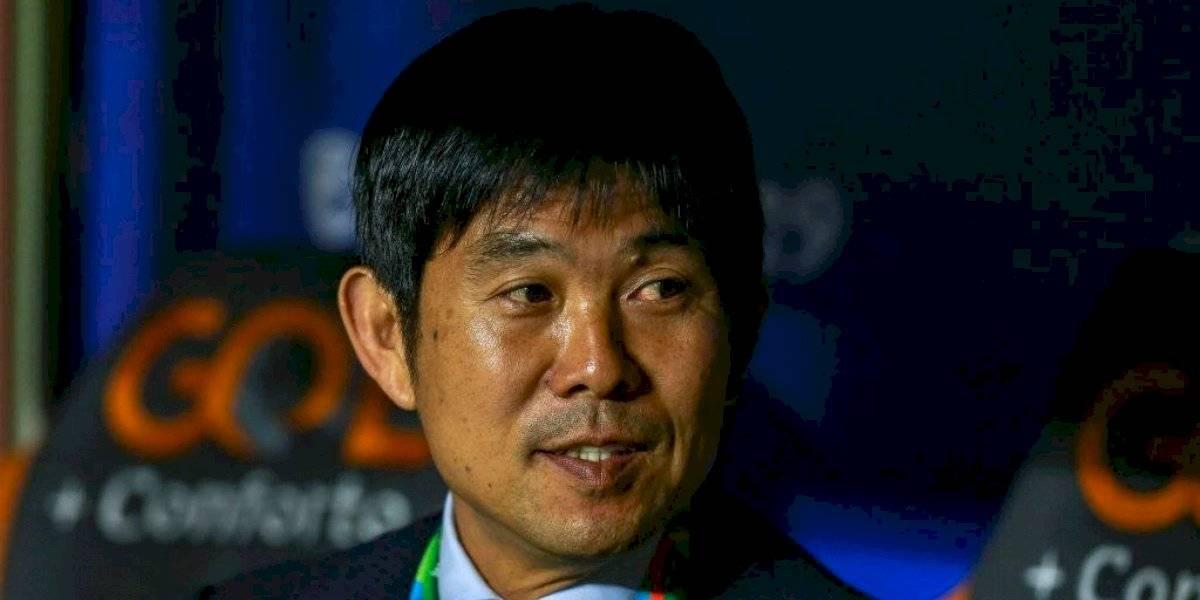 """DT de Japón valora el esfuerzo de sus jugadores ante Chile: """"No nos acobardamos ante al campeón"""""""