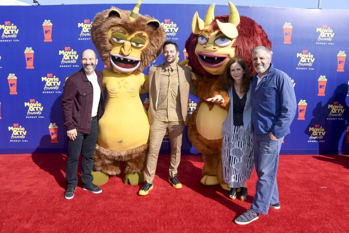 Andrew Goldberg, Nick Kroll, Jennifer Flackett y Mark Levin Getty Images