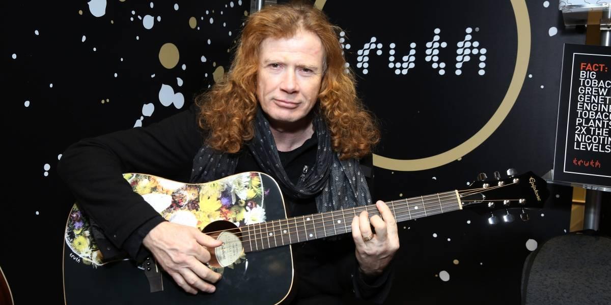 Megadeth cancela turnê no Brasil; vocalista está com câncer