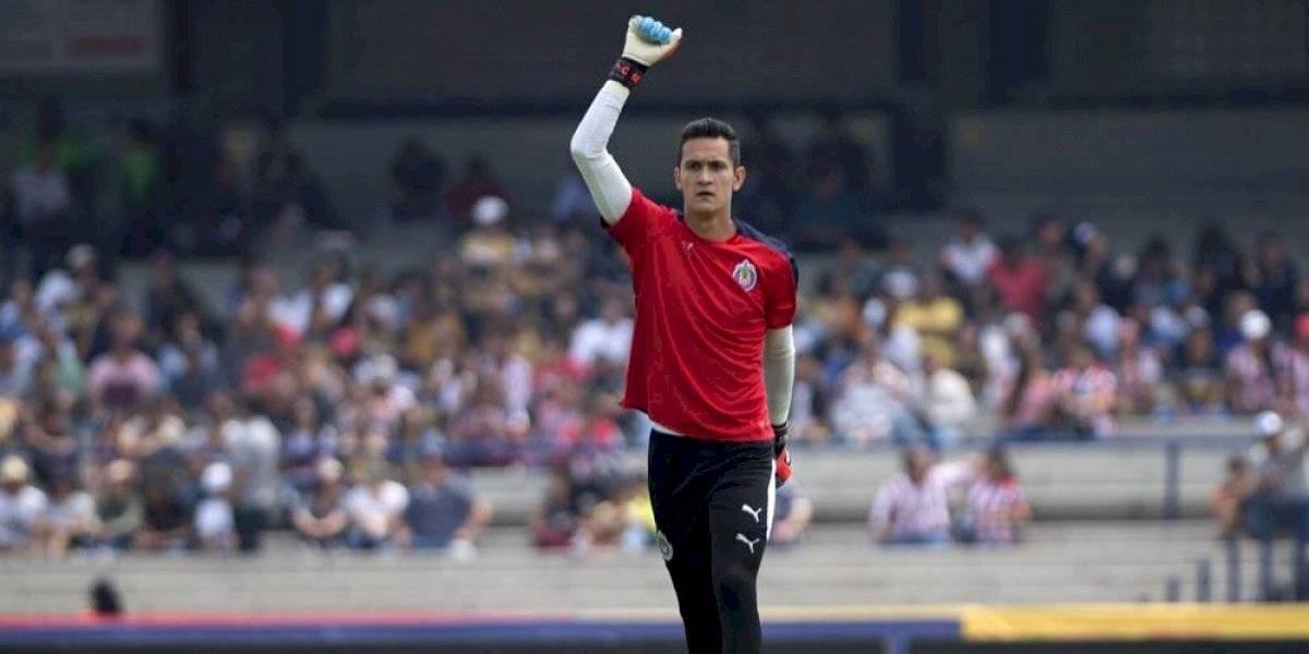 Se reporta Raúl Gudiño con Chivas