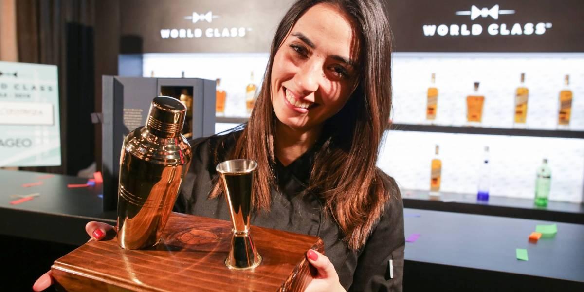Carla Constanza es la primera mujer en convertirse en la mejor bartender de Chile