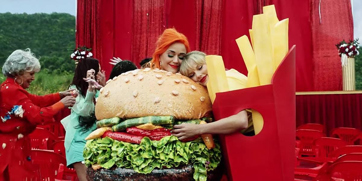 Taylor Swift põe fim à richa com Katy Perry em clipe de 'You Need To Calm Down'