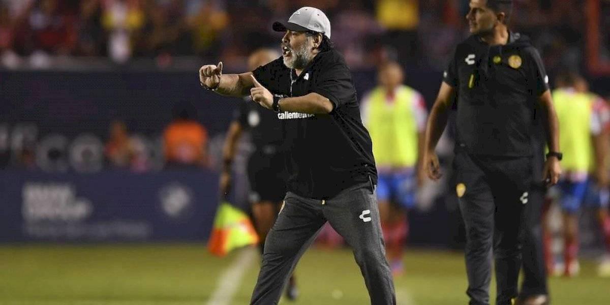 El furioso audio de Maradona tras la derrota de la Selección Argentina