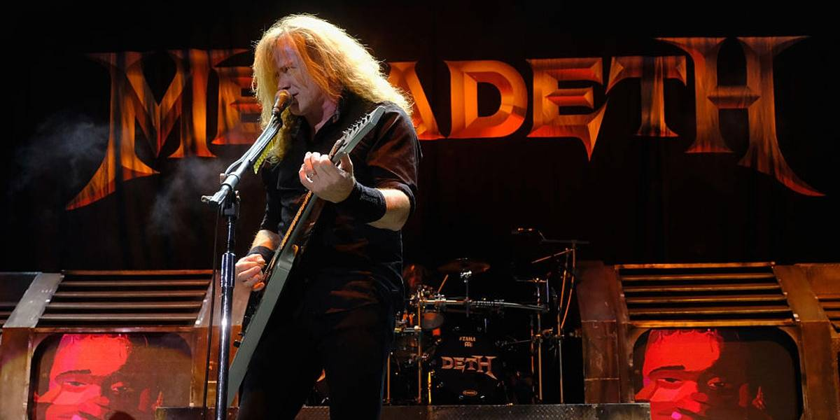 Dave Mustaine, do Megadeth, conta aos fãs que foi diagnosticado com câncer