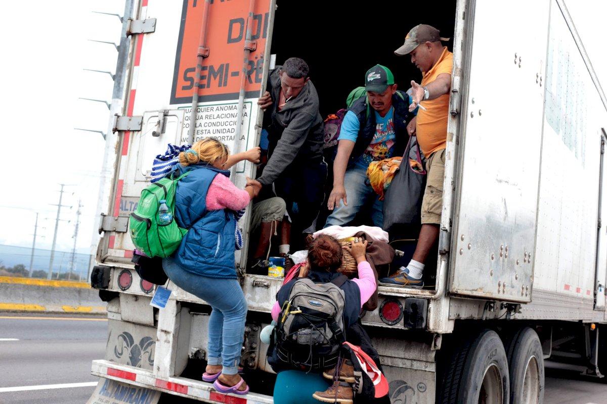 Migrantes. Foto: Cuartoscuro