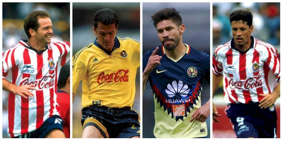 Oribe Peralta y otros jugadores que han jugado con América y Chivas