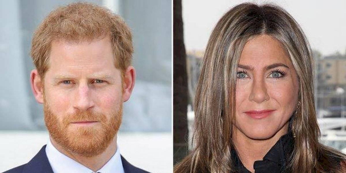 ¿Qué pasó entre el príncipe Harry con Jennifer Aniston?