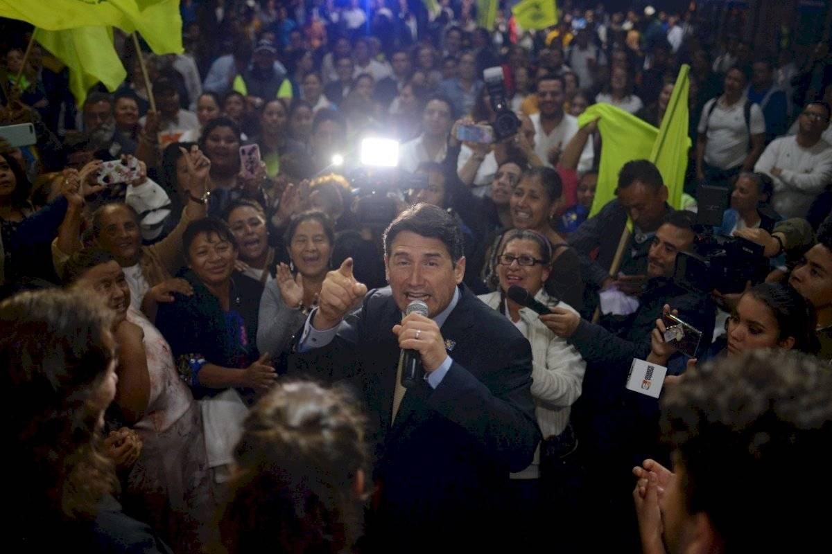 Alcalde Ricardo Quiñónez