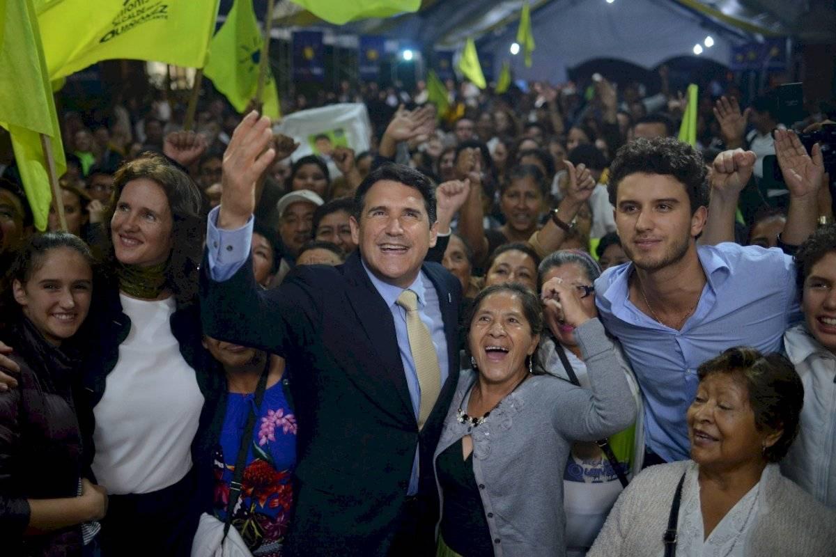 Ricardo Quiñónez es reelegido al frente de la alcaldía de Guatemala.