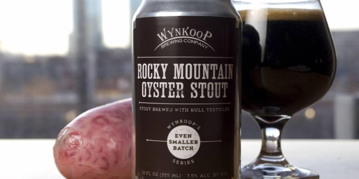 Conoce la extraña Cerveza hecha con testículos de toro
