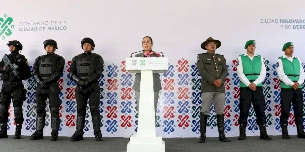 Presentan nuevos grupos de seguridad en CDMX