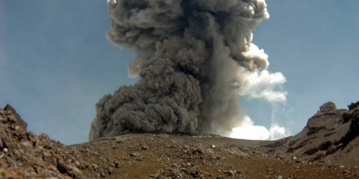 Popocatépetl registra nueva explosión; suman 4 este lunes