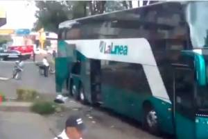 Estallan artefactos explosivos dentro de autobús de pasajeros en Uruapan