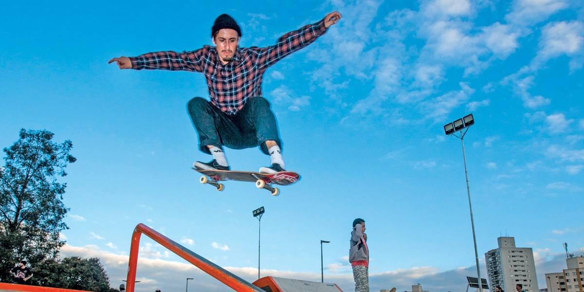 Parque do Chuvisco: nova pista de skate em São Paulo é aprovada por profissionais e amadores